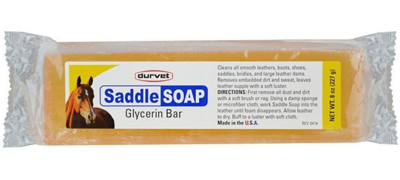 Durvet Saddle Soap Glycerin Bar