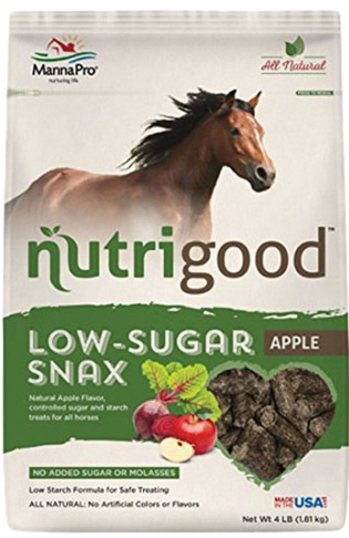 Manna Pro Nutrigood Low Sugar Snax Apple Flavor