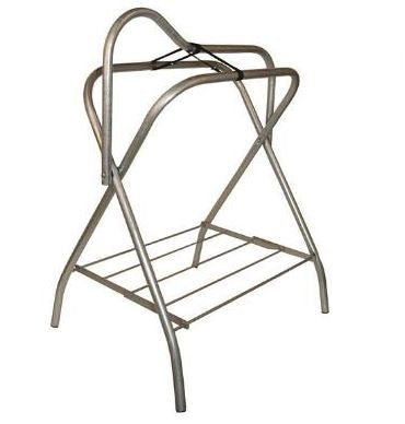 Chrome Folding Saddle Rack