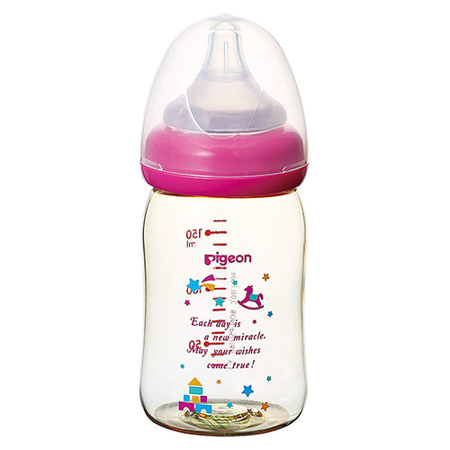 Pigeon Baby Bottle Plastic - 160ml - Toy Box Pattern