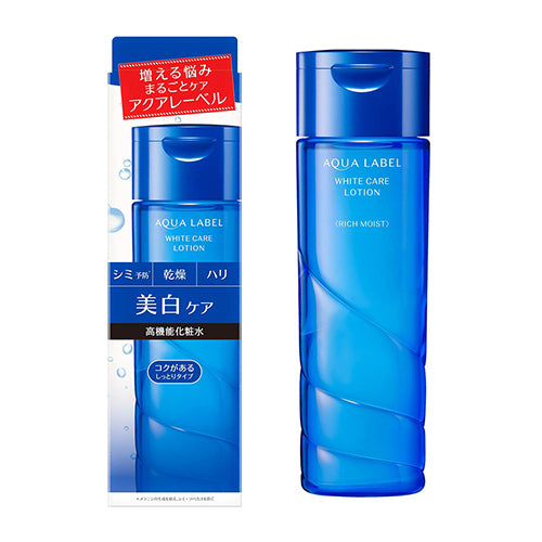 Shiseido Aqualabel White Care Lotion - 200ml - Moist - Harajuku Culture Japan - Japanease Products Store Beauty and Stationery