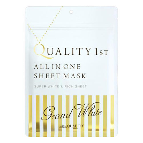 Quality First All in One Sheet Mask Grand White - 1box for 7pcs