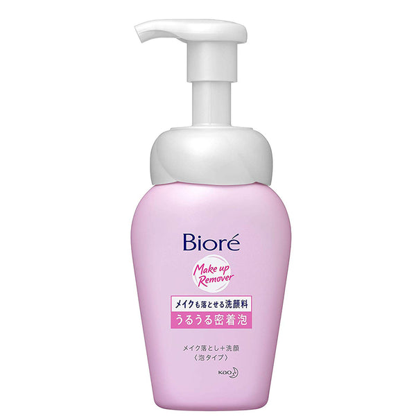Biore Make Mo Otoseru Facial Washing Foam Uru Uru Micchaku-Awa - 160ml