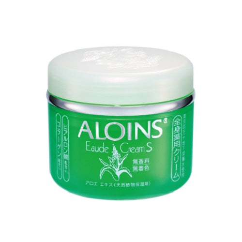 Aloins Eaude Cream S (Medicated Skin Cream) 185g - No Fragrance - Harajuku Culture Japan - Beauty Products Store