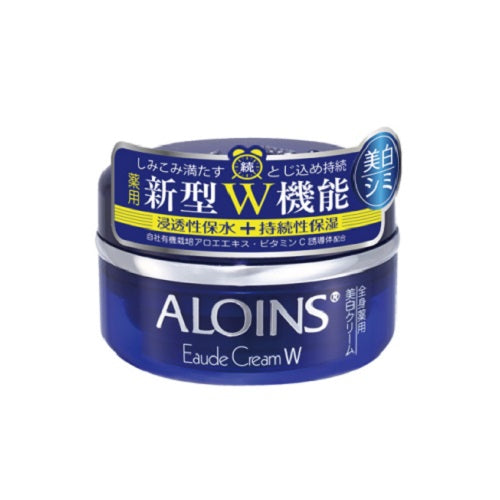 Aloins Eaude Cream W (Medicated Whitening Cream) 120g - Clear Floral Scent - Harajuku Culture Japan - Beauty Products Store