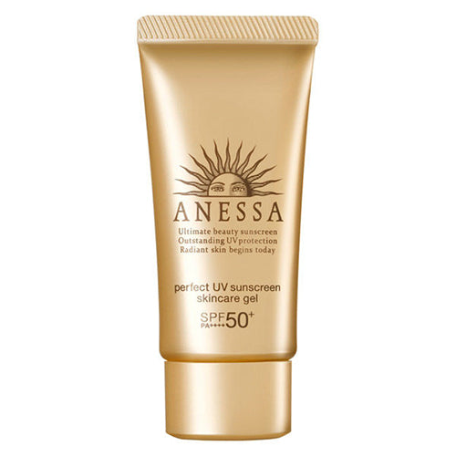 Shiseido Anessa Perfect UV Skin Care Gel SPF50+/PA++++ 32g - Harajuku Culture Japan - Beauty Products Store