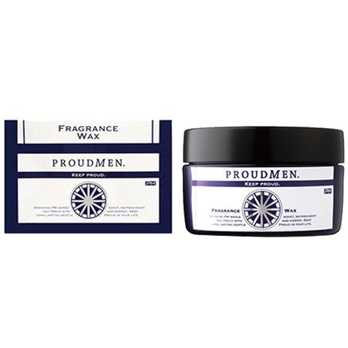 Proud Men Fragrance Hair Wax - 60g - Harajuku Culture Japan - Beauty Products Store