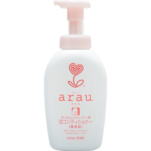 Arau Bubble Hair Conditioner - 500ml - Harajuku Culture Japan - Beauty Products Store