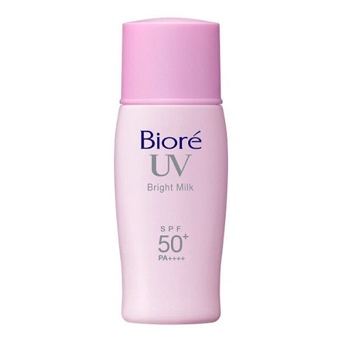 Biore Sarasara UV Bright Face Milk SPF50+/PA++++ 30ml - Harajuku Culture Japan - Beauty Products Store