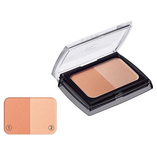 Fancl Styling Cheek Palette (Case On) - Healthy Coral - Harajuku Culture Japan - Japanease Products Store Beauty and Stationery