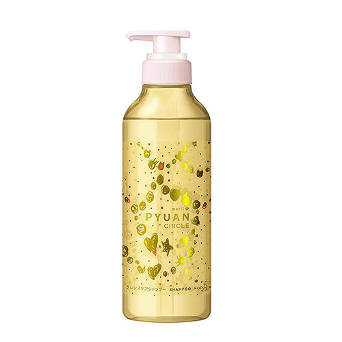 Kao Merit Pyuan Peach & Plum Scent Hair Shampoo 425ml - Circle - Harajuku Culture Japan - Japanease Products Store Beauty and Stationery