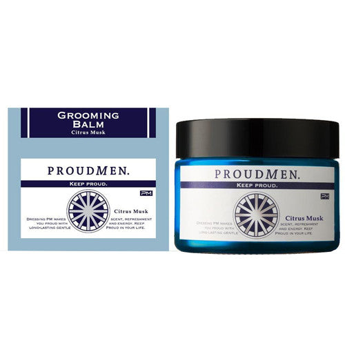 Proud Men Grooming Balm 40g - Citrus Musk - Harajuku Culture Japan - Beauty Products Store