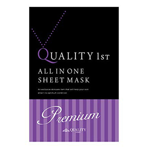 Quality First All in One Sheet Mask Premium EX - 1box for 3pcs