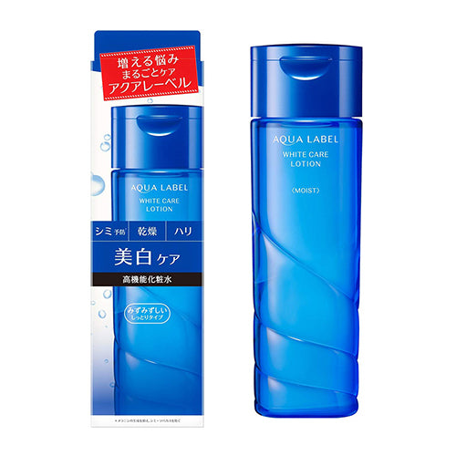 Shiseido Aqualabel White Care Lotion - 200ml - Fresh Moist - Harajuku Culture Japan - Beauty Products Store