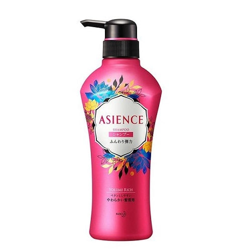 Asience Shampoo Light Type Pomp 480ml - Harajuku Culture Japan - Beauty Products Store
