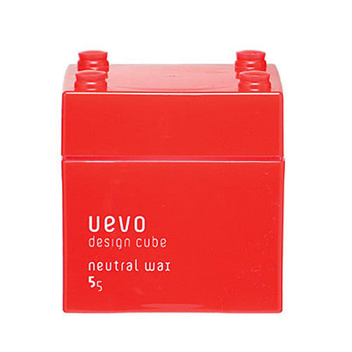 Uevo Design Cube Hair Wax Neutral 80g - Harajuku Culture Japan - Beauty Products Store