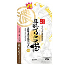 Sana Nameraka Honpo Soy Milk Isoflavone Wrinkle Gel Milky Lotion Face Mask - 1box for 5pcs