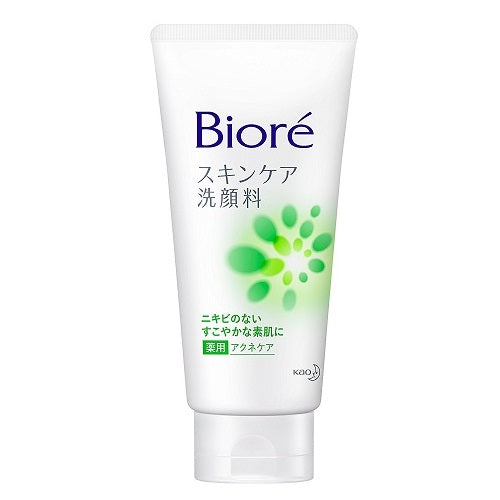 Biore Facial Washing Foam Medicated Acne Care - 130g - Harajuku Culture Japan - Beauty Products Store