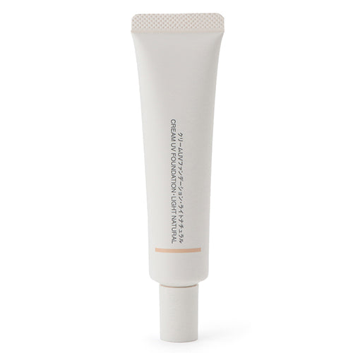 Muji Cream UV Foundation SPF31/PA+++ - 30g - Light Natural