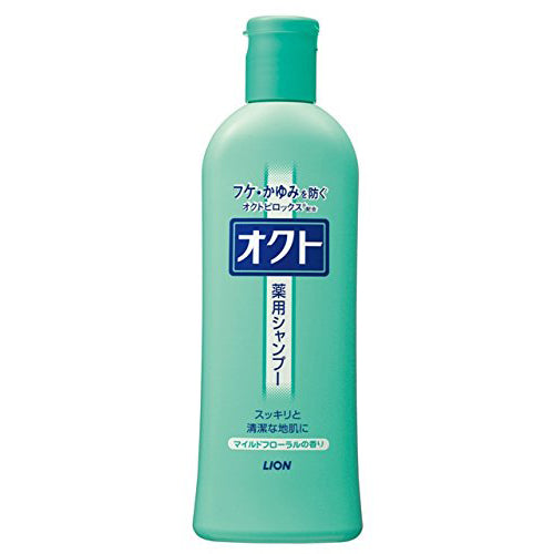 Oct Medicated Shampoo - 320ml - Harajuku Culture Japan - Beauty Products Store