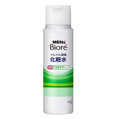 Biore Mens Face Lotion Medicated Acne Care Type 180ml - Harajuku Culture Japan - Beauty Products Store