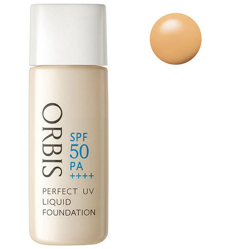 Orbis Perfect UV Liquid Foundation SPF50 PA++++ 30ml - Natural 03 - Harajuku Culture Japan - Japanease Products Store Beauty and Stationery
