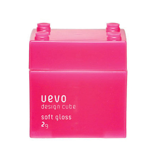 Uevo Design Cube Hair Wax Soft Gloss 80g - Harajuku Culture Japan - Japanease Products Store Beauty and Stationery