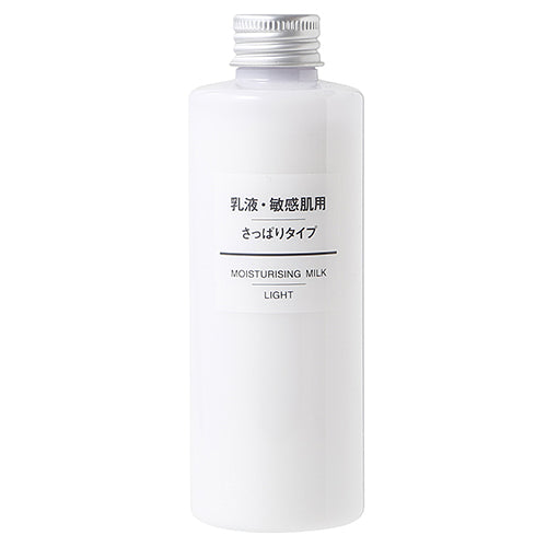 Muji Sensitive Skin Milky Lotion - 200ml - Clear