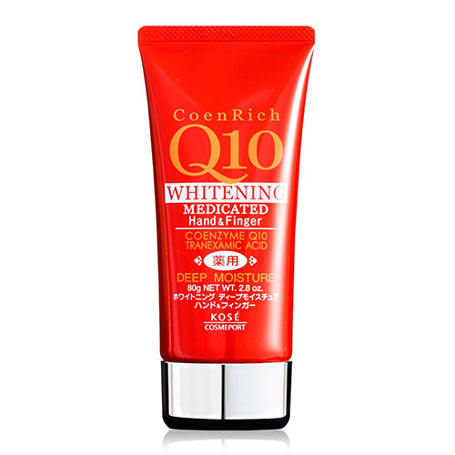 Kose Coen Rich Q10 Medicated Hand Cream 80g - Deep Moist