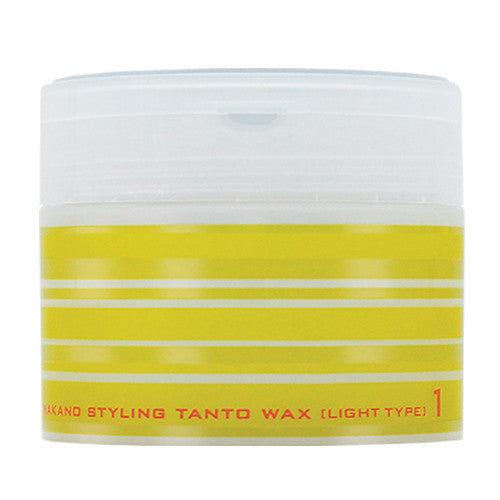 Nakano Tanto Wax 1 - Light Type - 90g - Harajuku Culture Japan - Japanease Products Store Beauty and Stationery