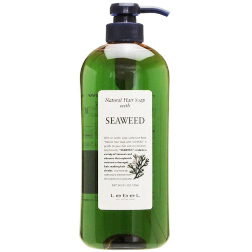 Lebel Natural Hair Soap Seaweed - 720ml