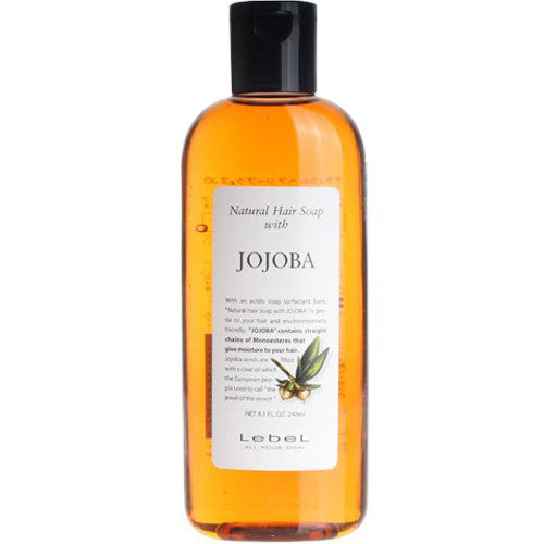 Lebel Natural Hair Soap Jojoba - 240ml - Harajuku Culture Japan - Beauty Products Store