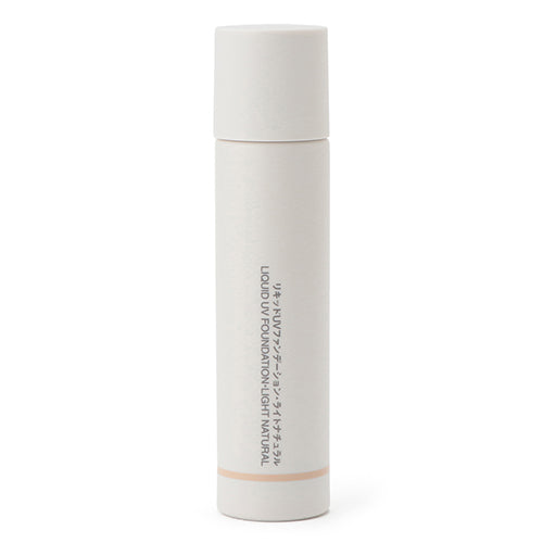 Muji Liquid UV Foundation SPF27/PA++ -30ml - Light Natural