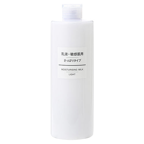 Muji Sensitive Skin Milky Lotion - 400ml - Clear