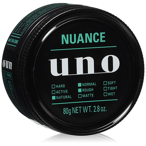 Shiseido UNO Hair Wax Nuance Creator 80g - Harajuku Culture Japan - Beauty Products Store