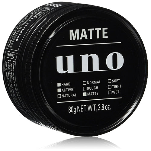 Shiseido UNO Hair Wax Mat Effector 80g - Harajuku Culture Japan - Beauty Products Store