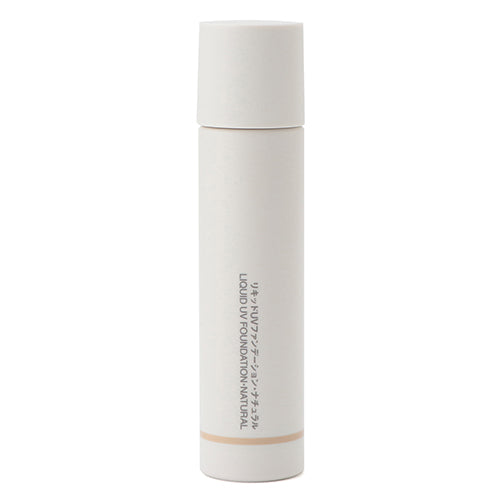 Muji Liquid UV Foundation SPF27/PA++ -30ml - Natural