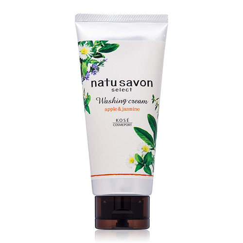 Kose Cosmeport Softymo Natu Savon Select Washing Cream - 130g - Moist