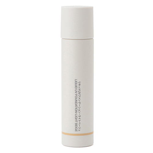 Muji Liquid UV Foundation SPF27/PA++ -30ml - Light Beige