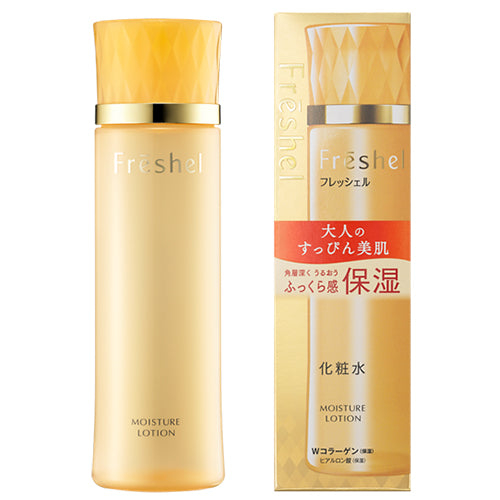Kanebo Freshel Face Lotion N - Moist - 200ml - Harajuku Culture Japan - Japanease Products Store Beauty and Stationery