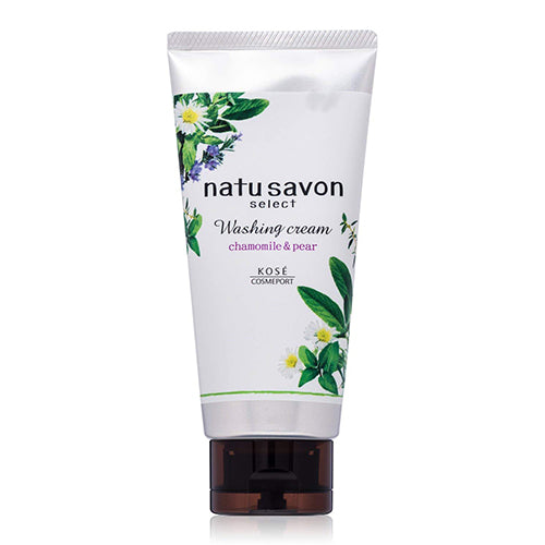 Kose Cosmeport Softymo Natu Savon Select Washing Cream - 130g - White