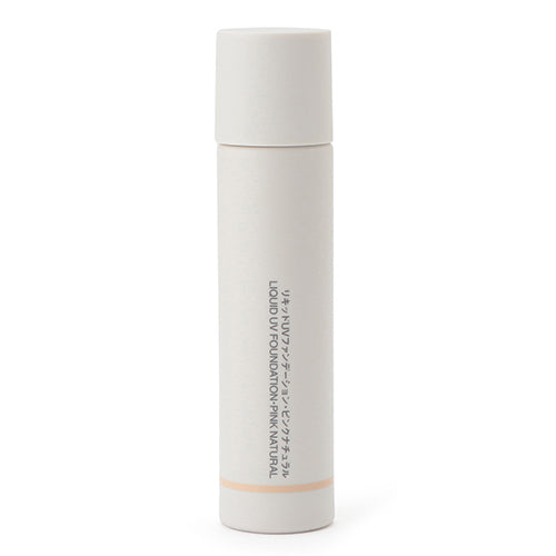 Muji Liquid UV Foundation SPF27/PA++ -30ml - Pink Natural