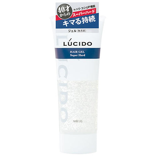 Lucido Hair Gel Super Hard 160g - Harajuku Culture Japan - Beauty Products Store