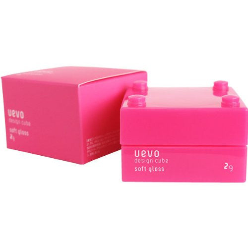 Uevo Design Cube Hair Wax - Soft Gross - 30g