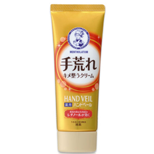 Rohto Mentholatum medicated hand veil Rough Hand Hand Cream 70g - Harajuku Culture Japan - Japanease Products Store Beauty and Stationery