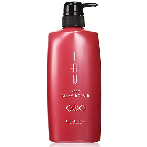 Lebel IAU Cream Silky Repair Hair Treatment - 600ml