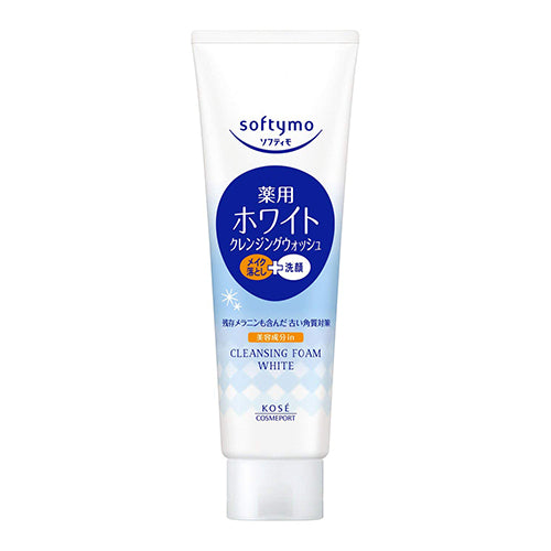 Kose Cosmeport Softymo Cleansing Wash 190g - White - Harajuku Culture Japan - Beauty Products Store