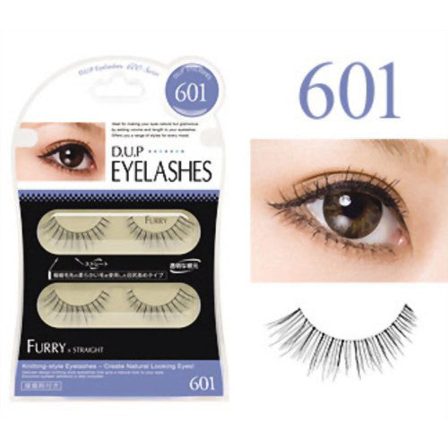 D.U.P False Eyelashes - Furry 601 - Harajuku Culture Japan - Beauty Products Store