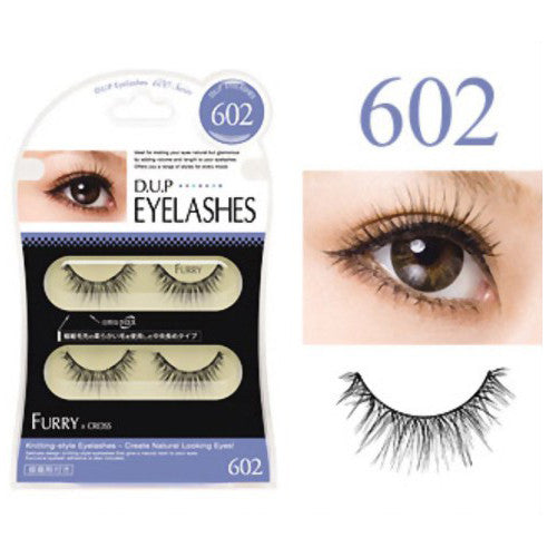 D.U.P False Eyelashes - Furry 602 - Harajuku Culture Japan - Beauty Products Store