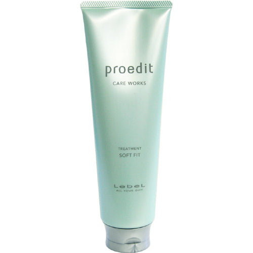 Lebel Proedit Care Works Hair Ttreatment Soft Fit - 250ml - Harajuku Culture Japan - Beauty Products Store